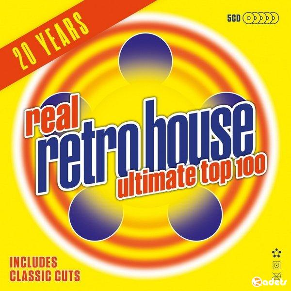 Real Retro House Ultimate Top 100 (5CD) (2018) FLAC