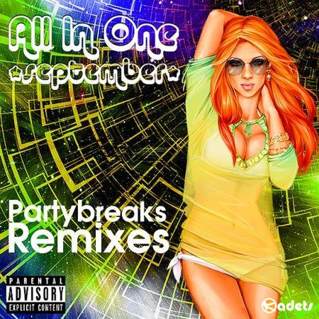 Partybreaks and Remixes - All In One September 004 (2018